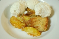 Gluten Free Peach Cobbler